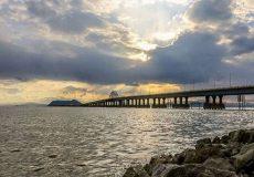 ثبات نسبی وضعیت دریاچه اورمیه طی یکسال