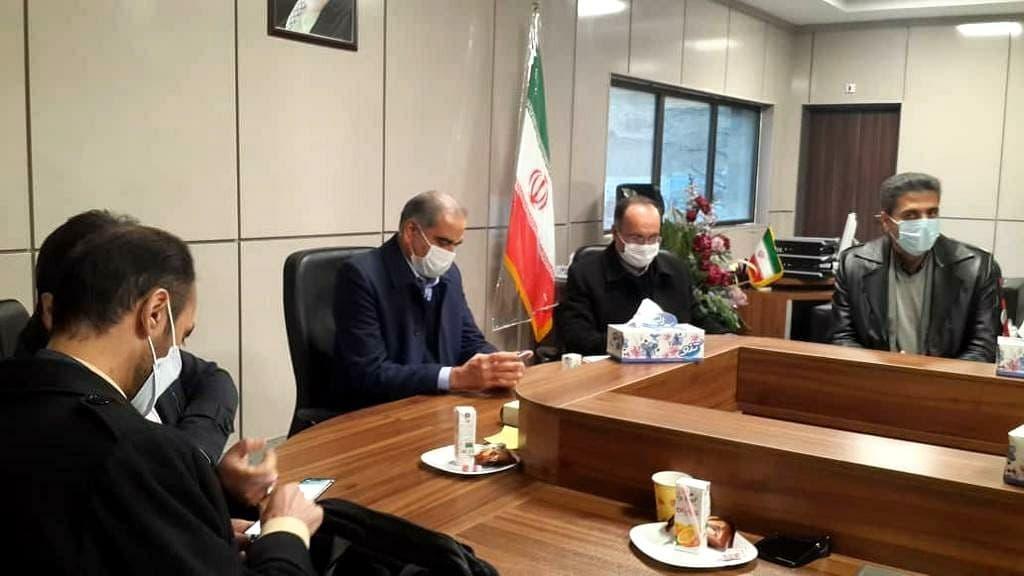 بازدید اعضای کمیسیون اقتصاد کلان مجمع تشخیص مصلحت نظام از سرو