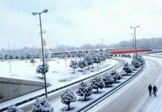 احتمال بارش برف طی روزهای آینده در اورمیه