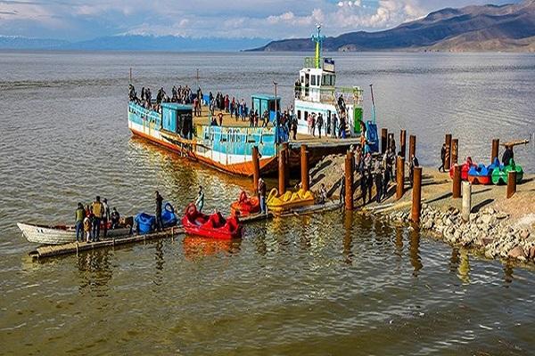 زمان بندی حرکت کشتیهای دریاچه اورمیه در اواخر دوره قاجار