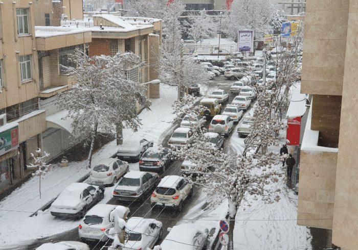 خیابانهای اورمیه قفل شد / عکس