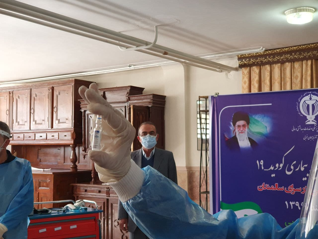 آخرین آمار مبتلایان به کرونای انگلیسی در آذربایجانغربی / آغاز واکسیناسیون سالمندان