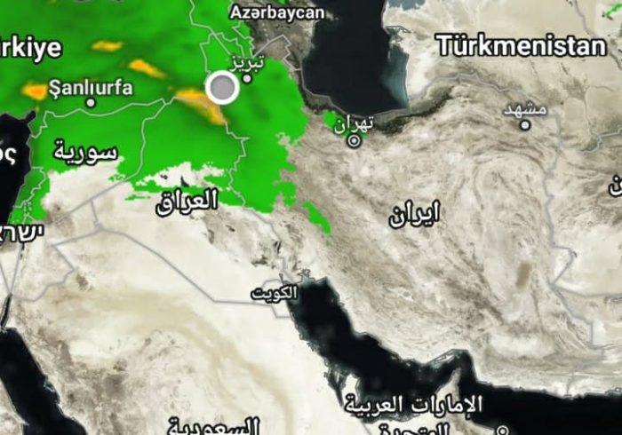 اورمیه میزبان اولین باران سال ۱۴۰۰