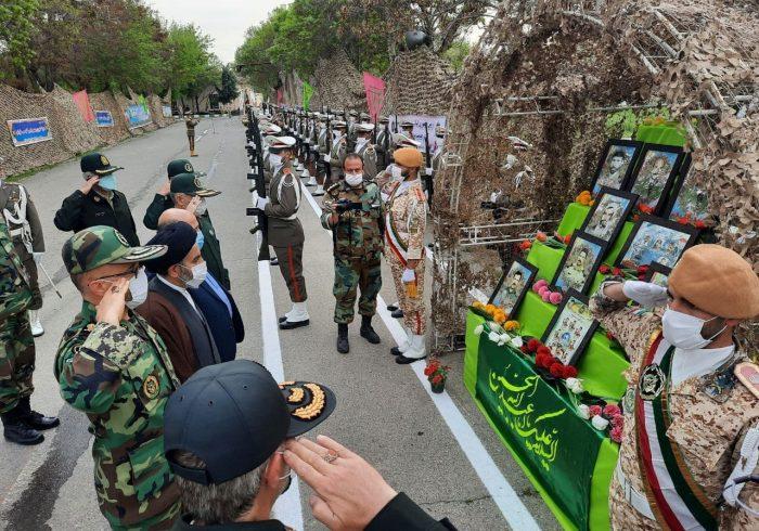 مراسم روز ارتش در اورمیه