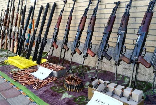 کشف و توقیف ۷ قبضه سلاح شکاری و جنگی در اورمیه
