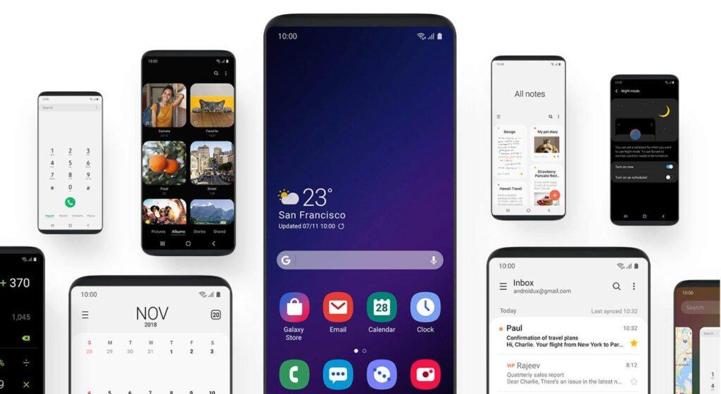تمام گوشیهای سامسونگ که اندروید ۱۲ و One UI 4.0 را دریافت خواهندکرد