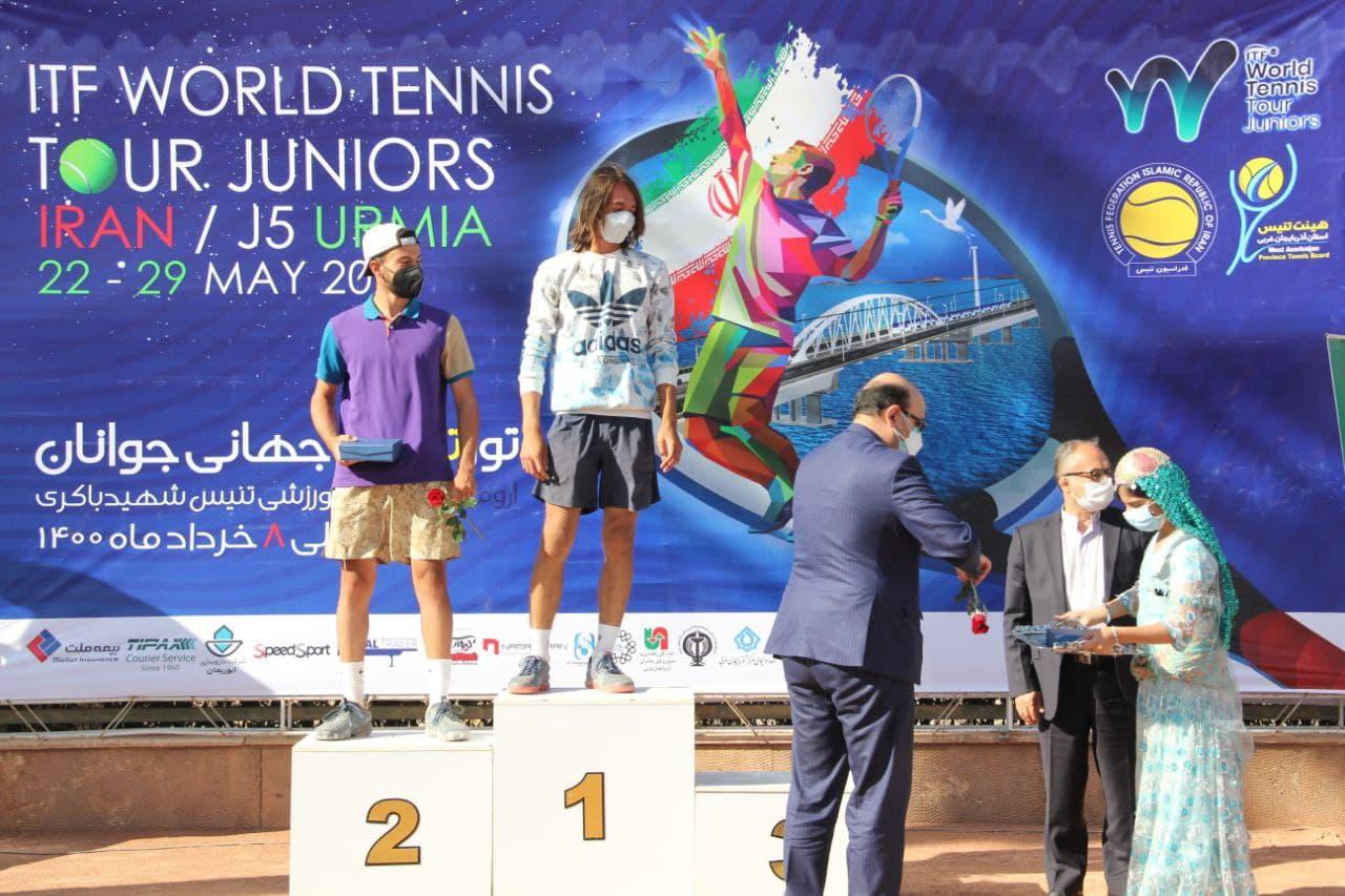 تور جهانی تنیس زیر ۱۸ سال اورمیه به پایان رسید