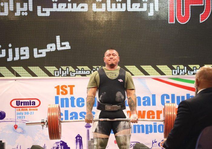 مسابقات پاورلیفتینگ قهرمانی باشگاههای جهان در اورمیه پایان یافت